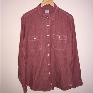 Men's J. Crew Selvedge Work shirt
